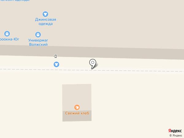 Магазин хозтоваров и посуды на карте Жигулёвска