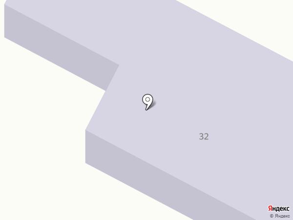 Светлячок, детский сад на карте Жигулёвска