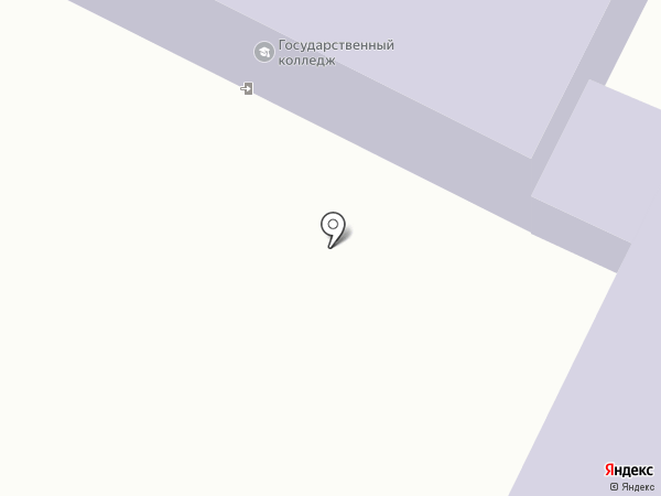 Жигулёвский государственный колледж на карте Жигулёвска