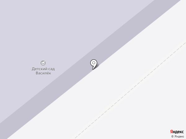 Василек на карте Васильевки