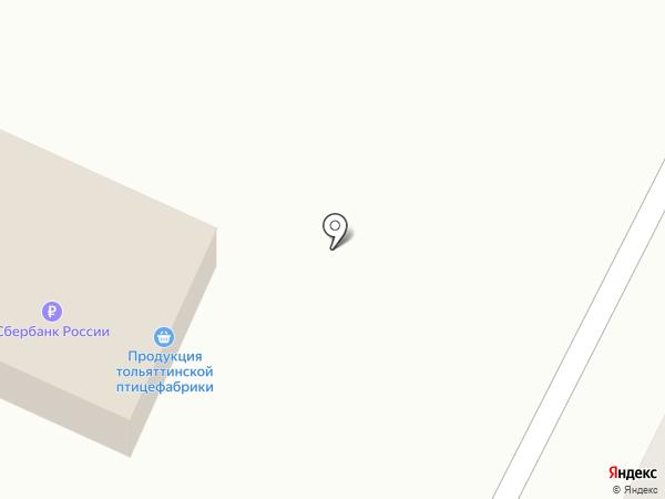 Продовольственный магазин на карте Жигулёвска