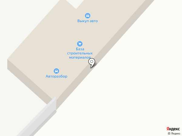 База строительных материалов на карте Васильевки
