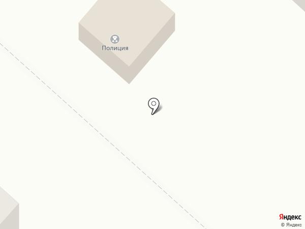 Участковый пункт полиции на карте Васильевки