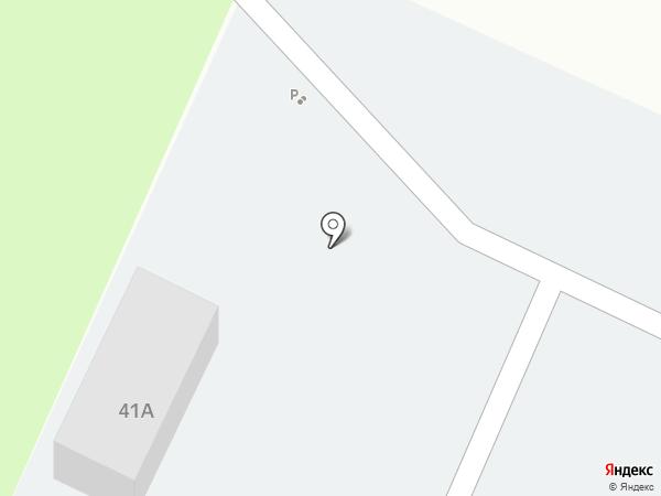 Автостоянка на карте Жигулёвска