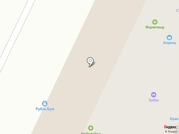 Апрель на карте Жигулёвска
