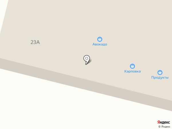 Магазин гусиного мяса на Советской на карте Карповки