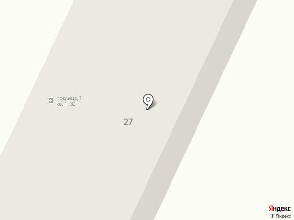Парковая на карте Жигулёвска