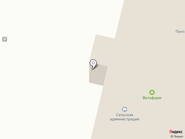 Почтовое отделение №164 на карте Соснового Солонца