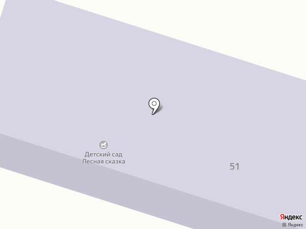 Лесная сказка на карте Соснового Солонца