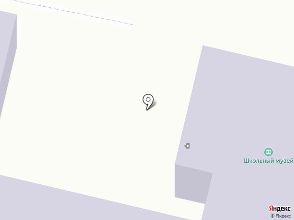 Средняя общеобразовательная школа на карте Соснового Солонца
