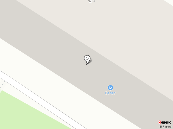 Росток на карте Тольятти