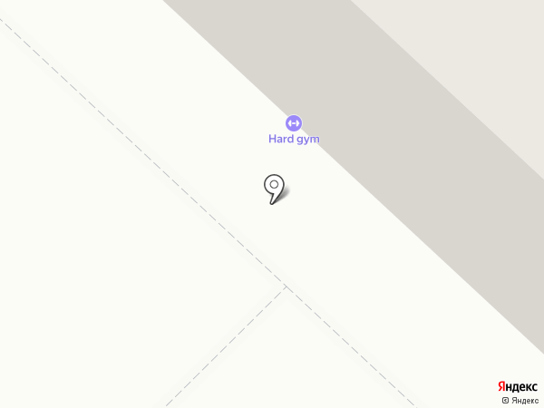 HARD GYM на карте Ганино