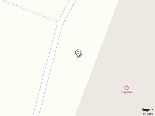 Марина на карте Кирова