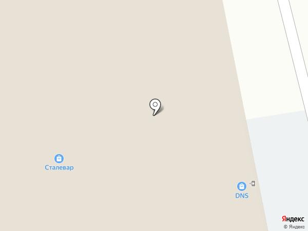 Медиал на карте Кирова