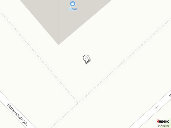 Вяткахозторг на карте Кирова