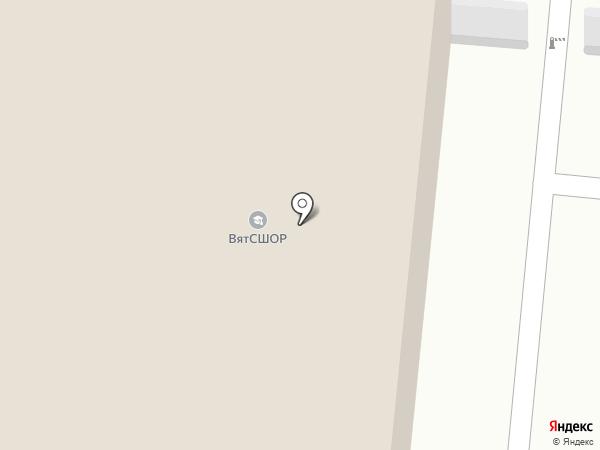 Витасфера на карте Кирова