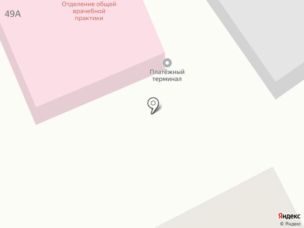 Отделение общей врачебной практики на карте Зеленовки