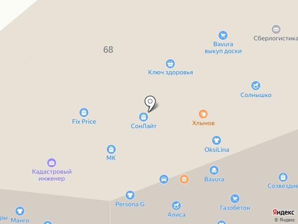 Алиса на карте Кирова