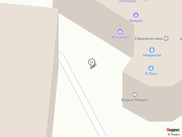 СЕВЕР принт на карте Кирова