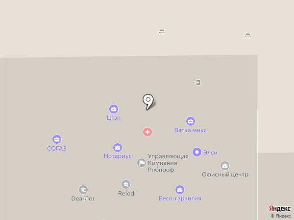 Нотариус Тучкова Ю.С. на карте Кирова