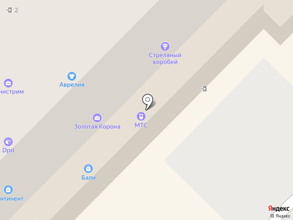 Мобильные ТелеСистемы на карте Кирова