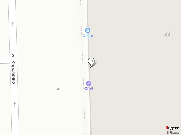 Ольга на карте Кирова