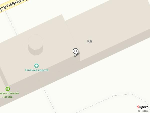 Благовещенский на карте Тольятти