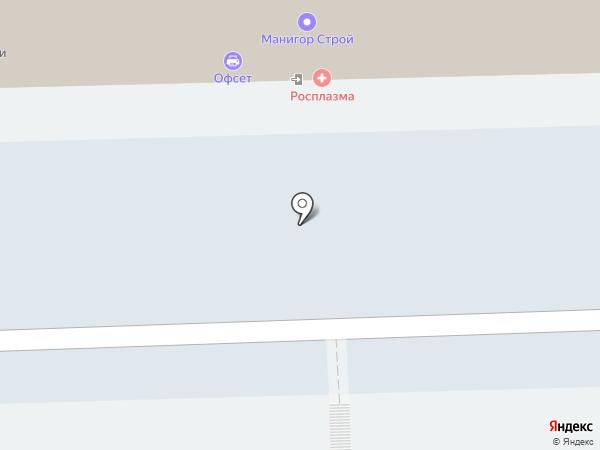 Деколь на карте Кирова