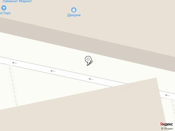 ДвериЯ на карте Кирова