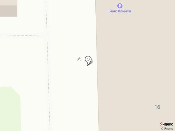Хлебница на карте Кирова