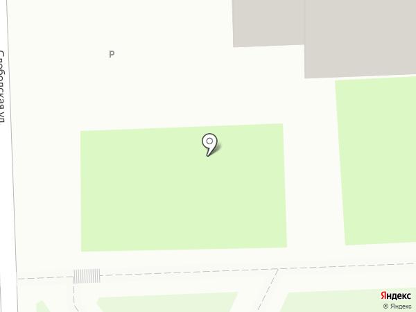 Санта на карте Кирова