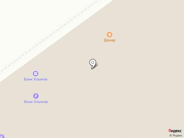 Банкомат, КБ Хлынов на карте Кирова