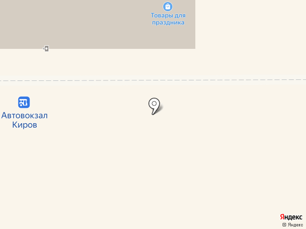 Магазин женской одежды на карте Кирова
