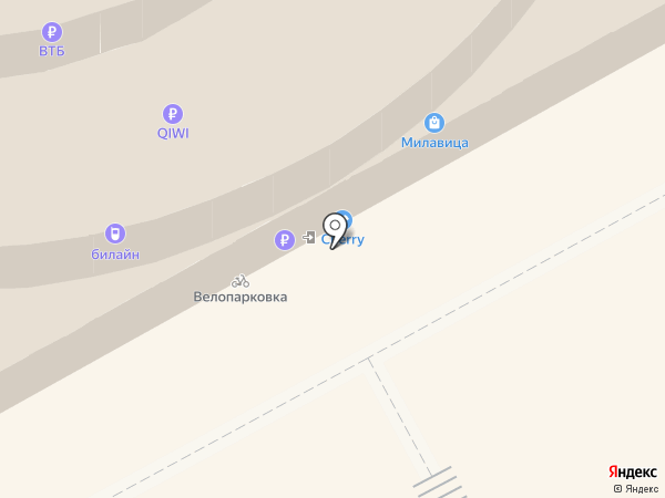 Цветной на карте Кирова