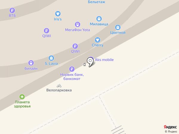 Банкомат, Промсвязьбанк, ПАО на карте Кирова