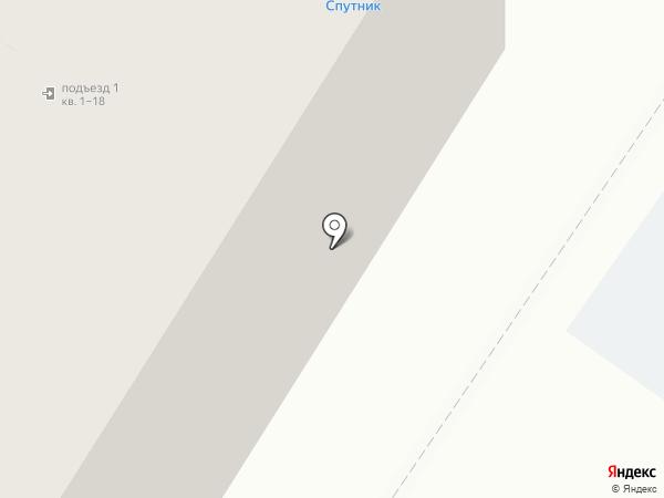 Спутник на карте Кирова