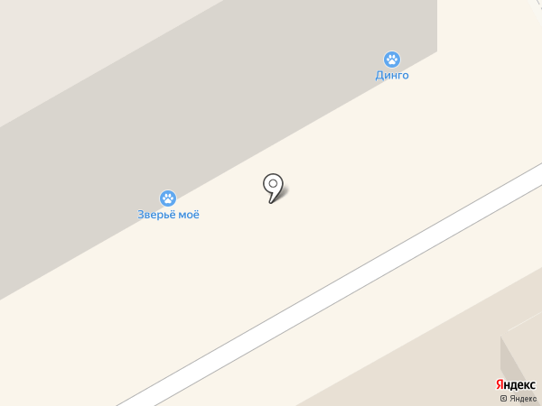 Динго на карте Кирова