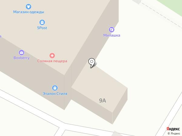 Милашка на карте Кирова