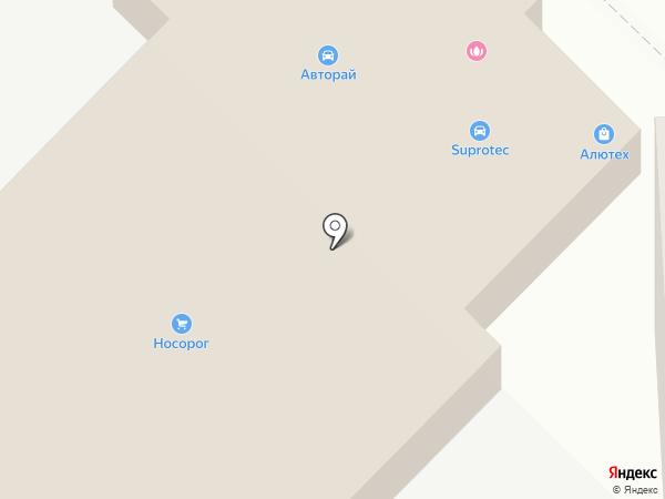 Супротек-Киров на карте Кирова