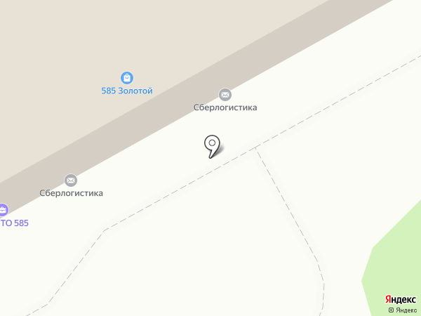 Кристина на карте Кирова