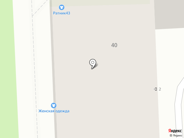 Твой мастер на карте Кирова