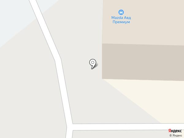 Mazda Центр Киров на карте Кирова