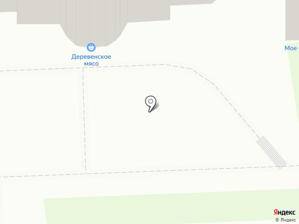 Магазин деревенского мяса на карте Кирова