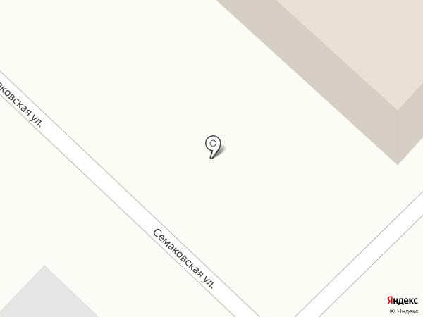 Семаковский на карте Кирова