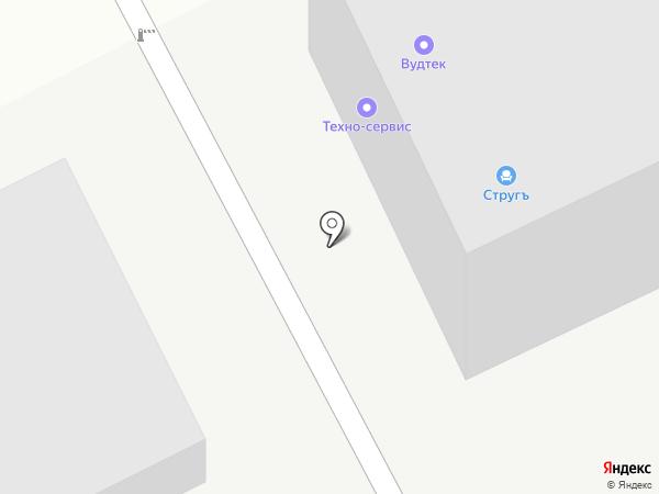 Инпак на карте Кирова