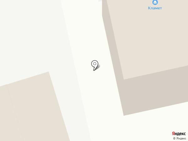 Кламет на карте Кирова
