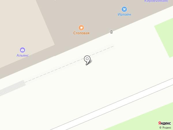 Искож на карте Кирова