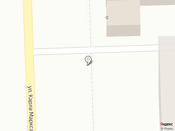 Магазин овощей, фруктов и кондитерских изделий на карте Кирова
