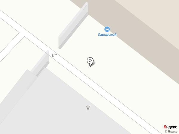 Заводской на карте Кирова