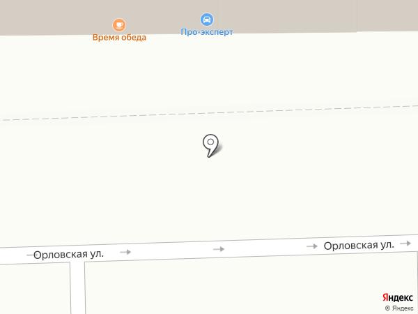 Время обеда на карте Кирова
